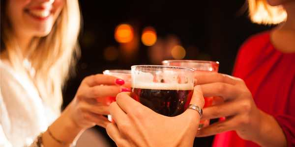 Male And Female Drinking Patterns Becoming More Alike In USA